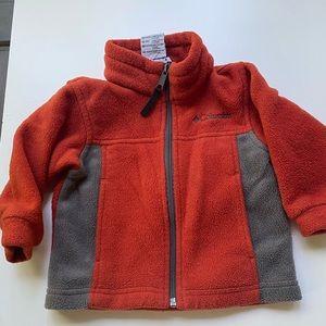 Baby Columbia Zip Up Fleece Jacket